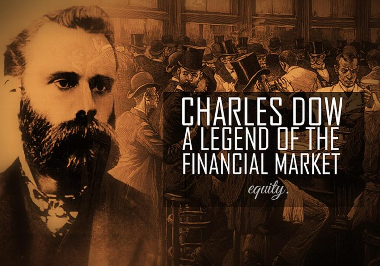 Businessman and analyst Charles Dow - Dow Jones index developer